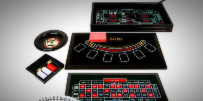 The main casino table games types
