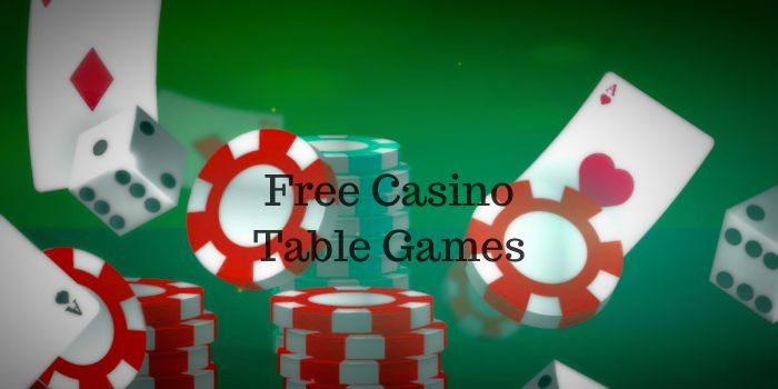 Free casino table games – a real pleasure from an interesting game